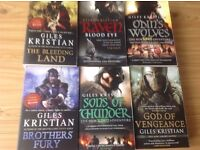 6 Giles Kristian Books - See Description For More Detail