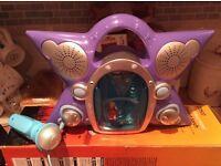 Hannah Montanah kids karioki toy