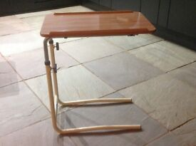 Over bed/armchair table