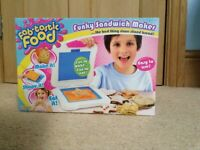 'Fabtastic' funky sandwich maker/cutter, unused, unopened, boxed,