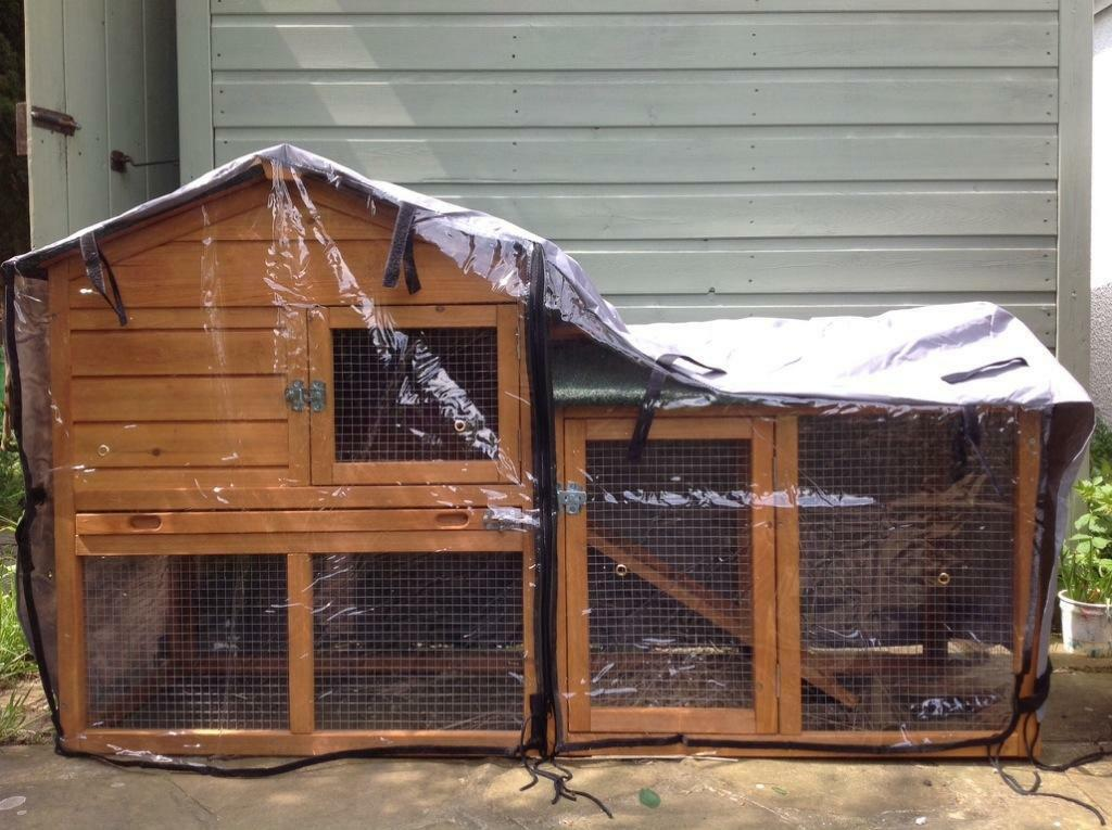 Rabbit Cages & Hutches | Hayneedle