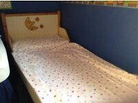 Childs bed.toddler to age 10yrs. As new. £200 when purchased.