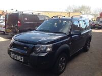 2004 Land Rover Freelander Diesel Automatic( But Car is Smoky and no mot)