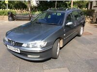 Peugeot 406 DIESEL estate,2003. Mot Sept and PART EX EITHER WAY...