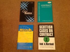 Scottish Contract Law Books