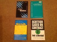 Scottish Contract Law Books