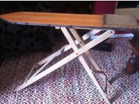 vintage ironing board/shop display/wooden ironing board