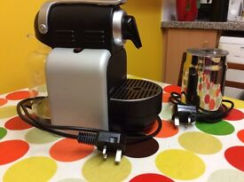 Nespresso Magimix coffee maker and frother