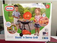 Little Tikes Children,s Sizzle 'n' Serve Grill BBQ set. NEW and Boxed.