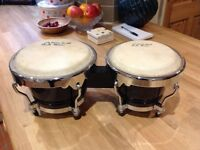 Bongos, Tone Deaf Music, excellent condition, never really been used, good quality and lovely sound.