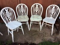 Chairs - Shabby Chic project