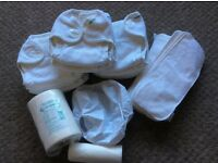 Mother-ease towelling nappies, liners, covers