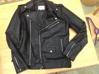 Man's Faux Leather Jacket