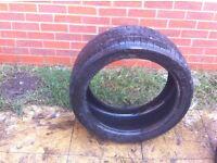 4 x Pirelli Scorpion Winter tyres 275/40 R20 106V