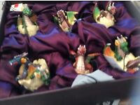 Box of Limited Edition mystical dragons