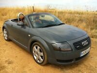 2000 X AUDI TT 225 4X4 CONVERTIBLE**SPECIAL BASEBALL INTERIOR** VEHICLE IS IN DERBY**VERY NICE CAR