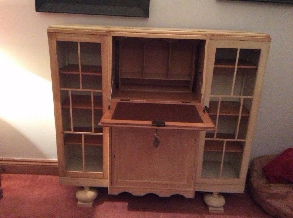 VINTAGE PAINTED SHABBY CHIC 1940s DRINKS /COCKTAIL CABINET ,LOCAL DELIVERY AVAILABLE 07486933766