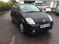 Citroen c2 semi auto 2004 full years mot great driver no faults
