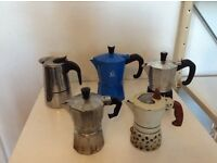 Moka pot - stove top italian coffee machines