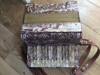 Vintage German accordion