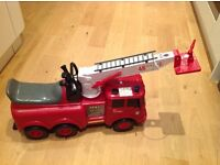 Toy Ride On Fire Engine