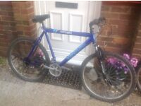 Mans Strata Mountain bike front suspension 18 sp