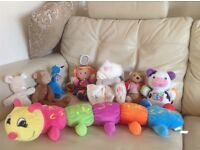 Toys in good/excellent condition from pet + smoke free home. Some sensory toys