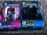Pink and blue zinc street gliders skates (brand new)