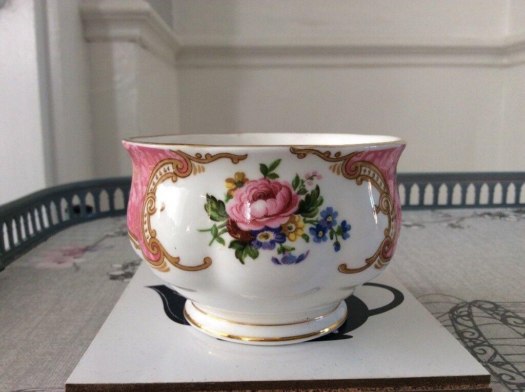 Royal Albert Lady Carlyle Bone China Small Sugar Bowl.