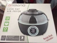 Ambiano electric low fat air fryer.