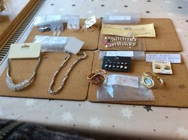 Brand new costume jewellery 19 items - selling as a job lot - individual prices available