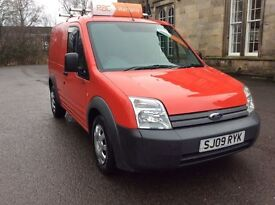 !!!FORD CONNECT DIESEL 09 PLATE RED IN COLOUR LONG MOT !!!