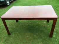Lovely solid wood extending dining kitchen table