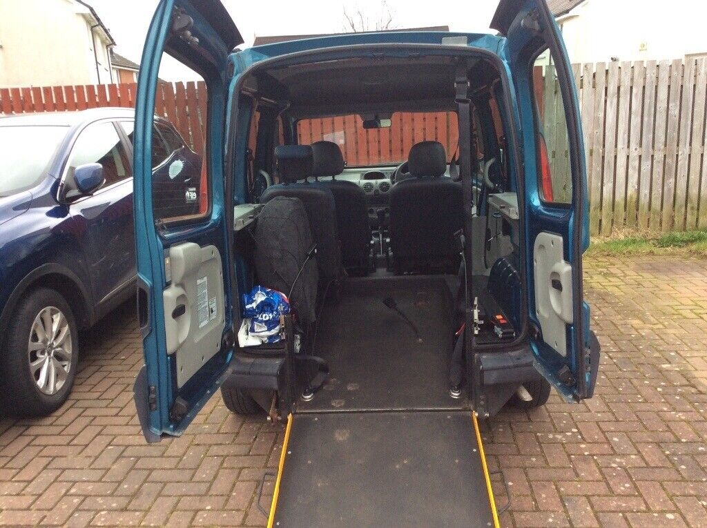 ea54a1e879 Renault kangoo 2008 58 reg disability wheelchairaccess automatic ...