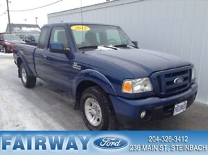 2011 Ford Ranger Sport Supercab Rare Find  Nice Local Trade