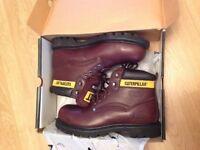 Mens boots. Catapillar size ten brand new
