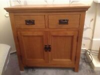 Oak midi sideboard, like new