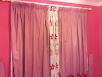 Fully lined curtains excellent condition