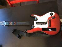 Wii Guitar Hero bundle