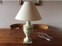 Nice pale green table lamp