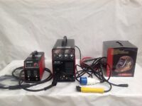 NB200 Mitech Inverter Mig welding machine Free solar Helmet