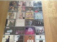 JOB LOT: CD's - including signed CD by Conor Maynard
