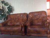 Leather sofa 2+1