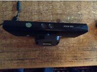 Xbox 360 Kinect sensor.
