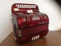 Paolo Soprani button accordion melodeon
