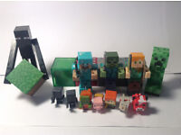 Assorted Minecraft Figures and Collectables - Minecraft Toys