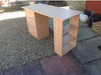Malibu three drawer desk from Argos
