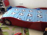 £45 ONLY, Used Boys red cars character bed for sale. Good Condition, bed frame only.