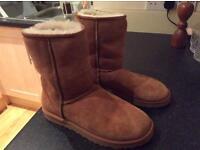 Beige Classic Ugg Boots