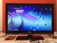 Polaroid 22 Inch HD LED TV, DVD Combi Freeview USB Playback